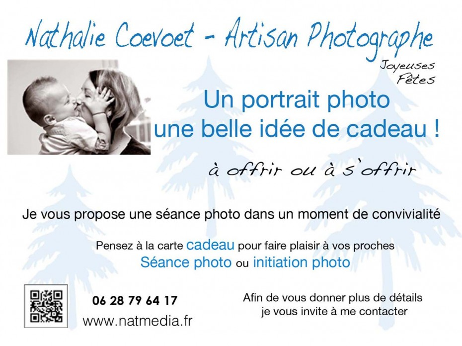 Offrez une carte cadeau photo Chambéry Savoie