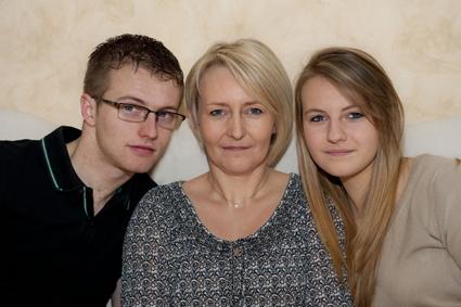 Photographe portrait de famille Savoie